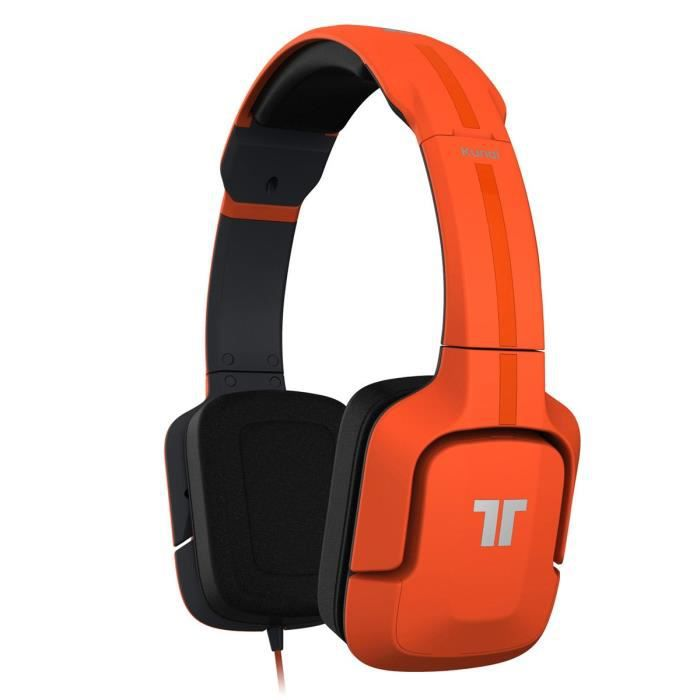 tritton kunai casque micro pc mobile orange prix pas cher cdiscount. Black Bedroom Furniture Sets. Home Design Ideas