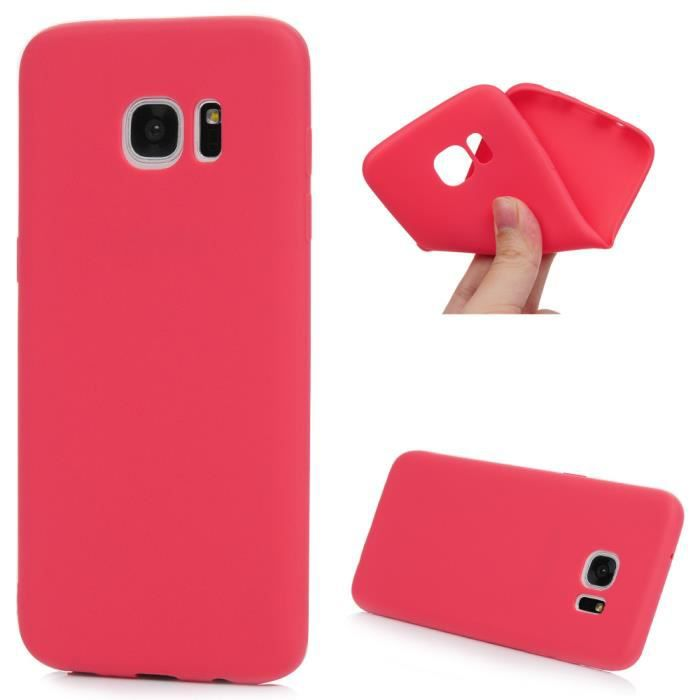 coque samsung galaxy s7 edge rouge