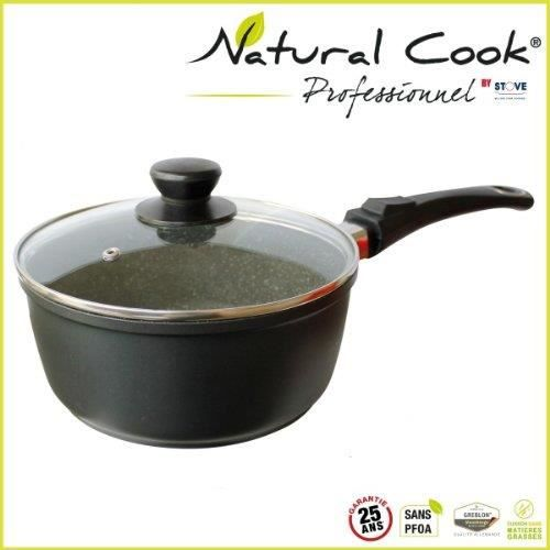 casserole en pierre 20 cm natural cook by stove achat vente casserole casserole en pierre 20. Black Bedroom Furniture Sets. Home Design Ideas