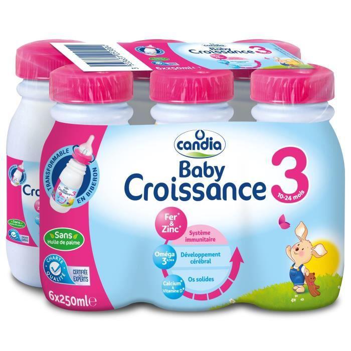 LAIT BÉBÉ Candia lait croissance 6x25cl