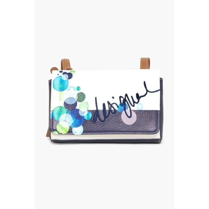 DESIGUAL BOLSO DALLAS IVYBLUE CRUDO