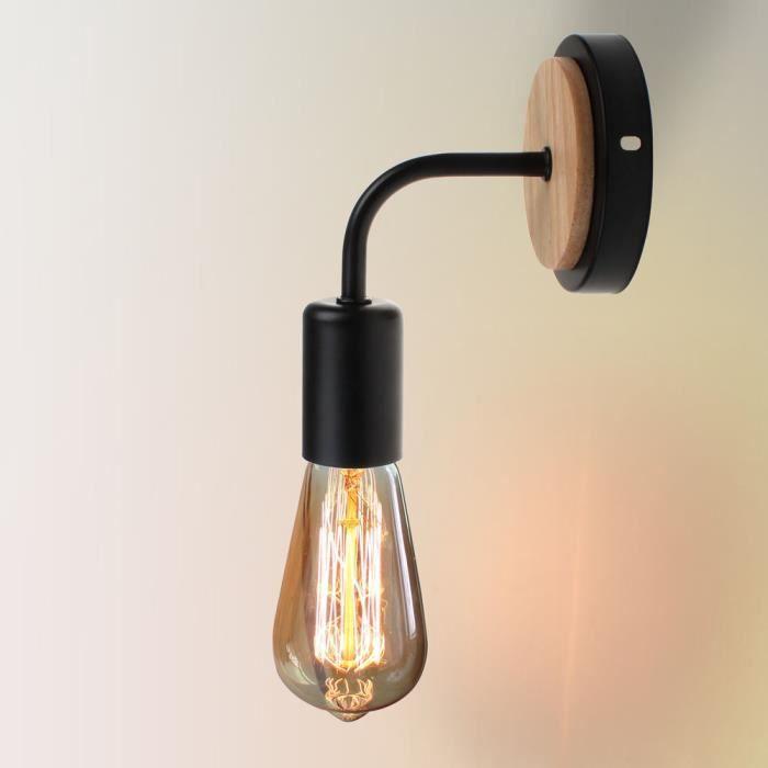 Exbon Retro Applique Murale Interieur E27 Luminaire Eclairage