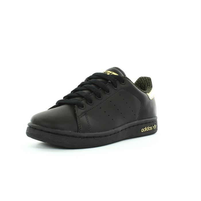 adidas stan smith femme noir et or achat vente. Black Bedroom Furniture Sets. Home Design Ideas