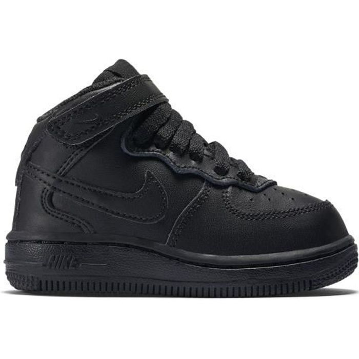détaillant en ligne 48cea 33552 AIR FORCE 1 MID (TD) - Baskets montantes en cuir - denim noir