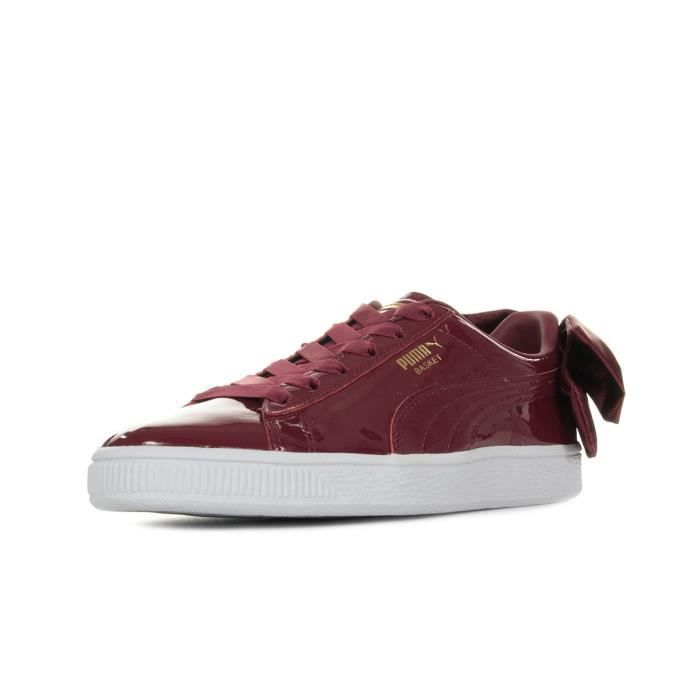newest 3882a 97ce5 Baskets Puma Basket Bow Patent Wn's