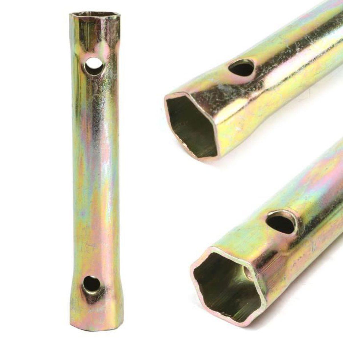 Clé à bougie d/'allumage D-Bougies 16 cm Long Hexagonal 18 mm Clés à Douille
