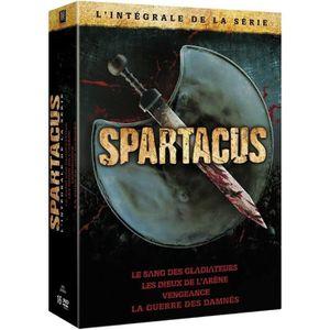 DVD SÉRIE DVD Coffret intégrale Spartacus