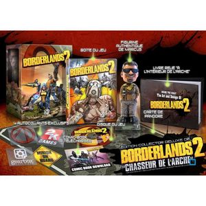 "JEUX XBOX 360 BORDERLANDS 2 COLLECTOR ""CHASSEUR DE L'ARCHE"""