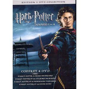 DVD FILM COFFRET 4 DVD HARRY POTTER