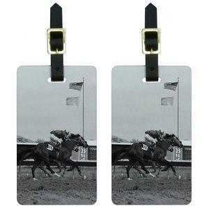 BRACELET DE MONTRE Années hommes au cheval de course piste Vintage Et