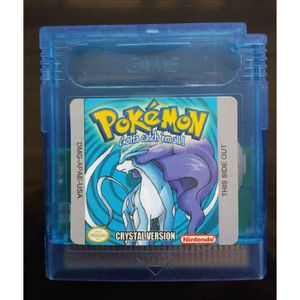 JEU GBA Pokemon cristal Carte Version Pour la couleur Nint