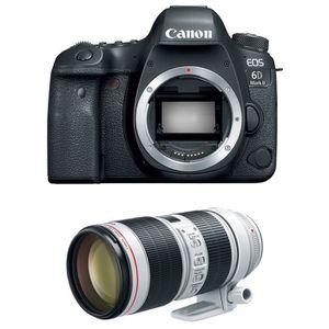 PACK APPAREIL RÉFLEX Canon EOS 6D Mark II + EF 70-200mm f/2.8L IS III U