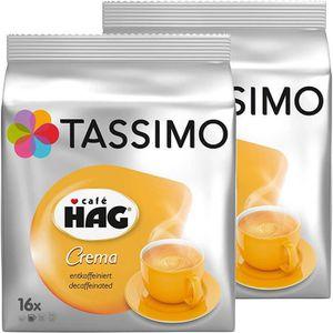 CAFÉ CD-990Tassimo Café HAG Crema capsule de café décaf