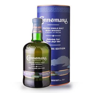 WHISKY BOURBON SCOTCH Connemara Distillers Edition 70cl Peated - Caniste