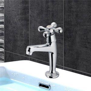 ROBINETTERIE SDB Robinet lave mains Retro eau froide lavabo toilett