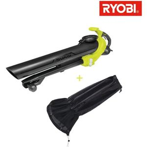 ASPIRATEUR - SOUFFLEUR Pack souffleur aspiro-broyeur électrique RYOBI 300