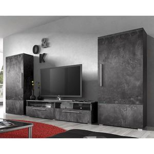 meuble en beton achat vente meuble en beton pas cher cdiscount. Black Bedroom Furniture Sets. Home Design Ideas