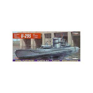 MAQUETTE DE BATEAU U-boot U-295 type U-VIIC/42 + Biber (sous-marin)
