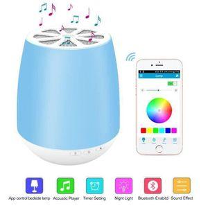 ENCEINTE NOMADE Enceinte Connectée Haut-parleur Bluetooth Lampe de