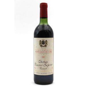 VIN ROUGE Château Beau-Séjour Bécot 1982 Vin Rouge 75cl AOC