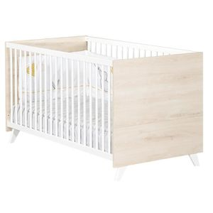 LIT BÉBÉ Babyprice - SCANDI NATUREL - Lit Evolutif Little B