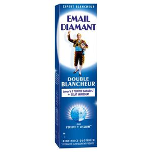 DENTIFRICE Email Diamant Dentifrice Double Blancheur 75ml (lo