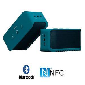 ENCEINTE NOMADE JABRA SOLEMATE Bleu Enceinte bluetooth NFC portabl