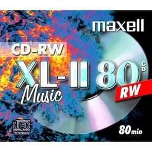 CD - DVD VIERGE Maxell - CD-RW XL-II 80