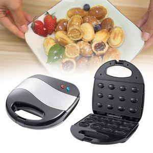 Cuisine Four De Cuisson Petit D/éjeuner Gaufrier Noix /électrique Machine Automatique /Écrou Mini Boulanger Noix Machine /à Sandwichs Pain Pour Grille Pain Cuisson