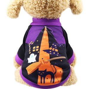 COSTUME - ENSEMBLE Costume pour Chien, Halloween Pet Sweat Chiot Sorc