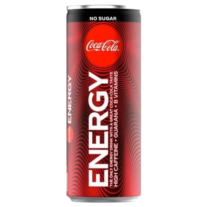 Coca-Cola Energy No Sugar 25cl (pack de 24)