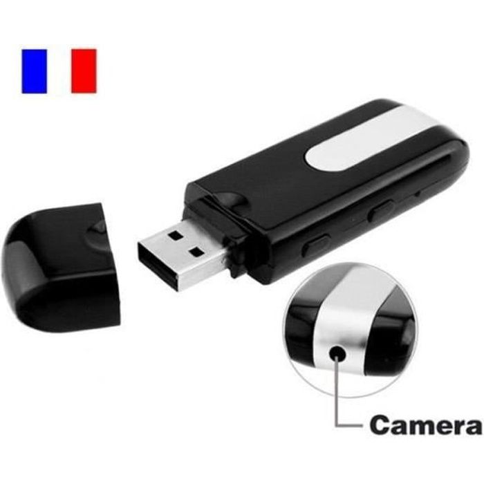 CLE USB CAMERA ESPION vidéo HD 1280x960pixels carte micro sd 16 GO incluse