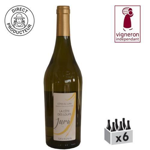 AOC Côtes du Jura Savagnin - 2014 - Caisse de 6 bouteilles