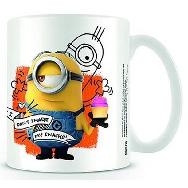 MINIONS - Mug - 300 ml - Snacks : P.Derive , ML