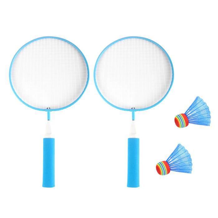 1 ensemble enfants raquette de Badminton professionnel Portable loisirs jouets fournitures de BADMINTON RACKET - BADMINTON FRAME