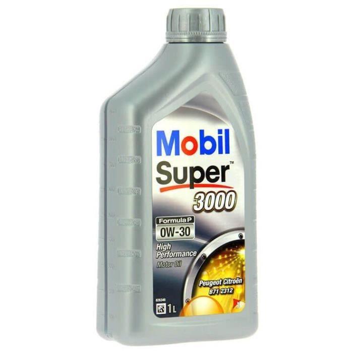 MOBIL Huile moteur synthétique S3000 - 0W30 Formula-P - 1 L