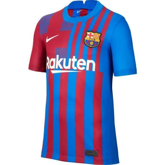 MAILLOT JUNIOR DOMICILE FC BARCELONE BLEU 2021/22