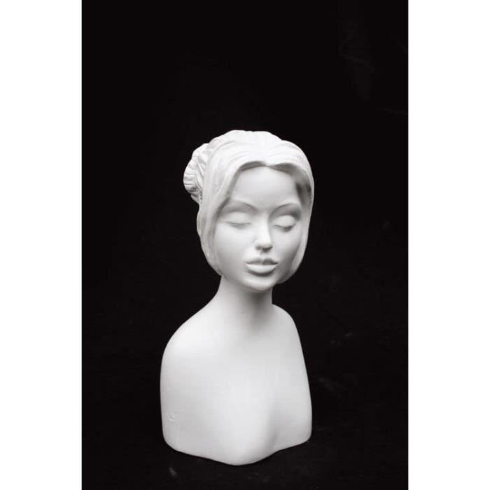 Statue en plâtre Grace - Powertex Blanc