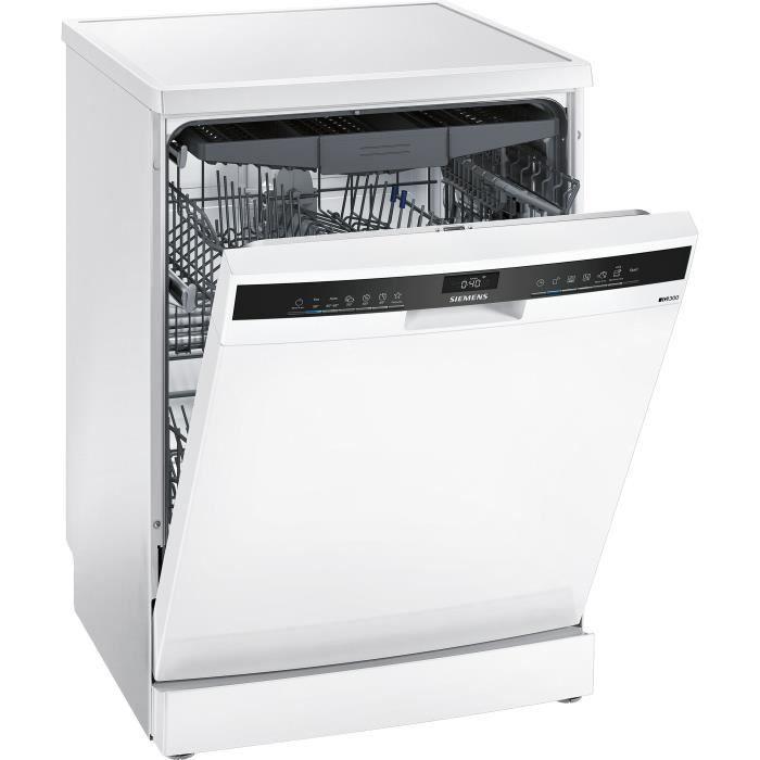 Lave-vaisselle pose libre SIEMENS SN23EW14CE - 13 couverts - Induction - L60cm - 44dB - Blanc