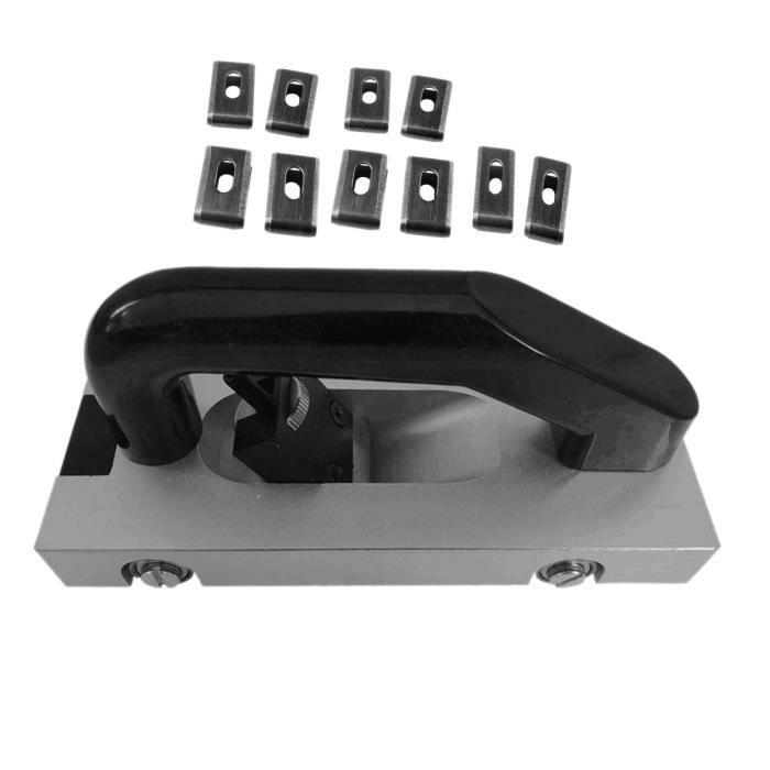 U-Type Lame Roue Vinyle Groover Plancher Rainurage Rainurage Tirer à la Main Outil de Plancher Slotter PVC Vinyle de Soudage en