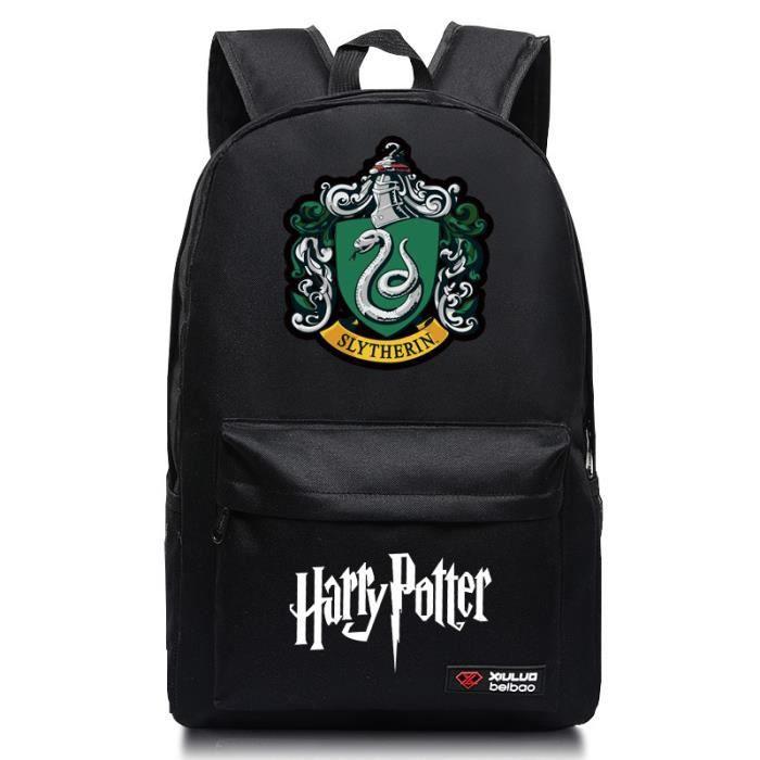 MOBIGARLAN Sac à Dos - Sac d'École cartable étudiant Harry Potter imprimé pour enfant adolescent modèle 15