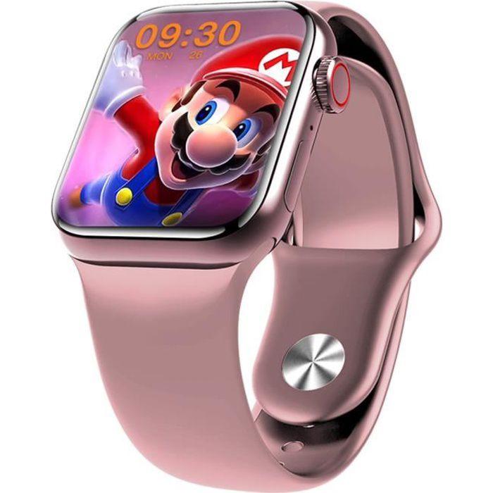 M26 Plus Montre connectée sport Smartwatch Intelligente Bluetooth Écran HD de 1,77 pouces -Rose