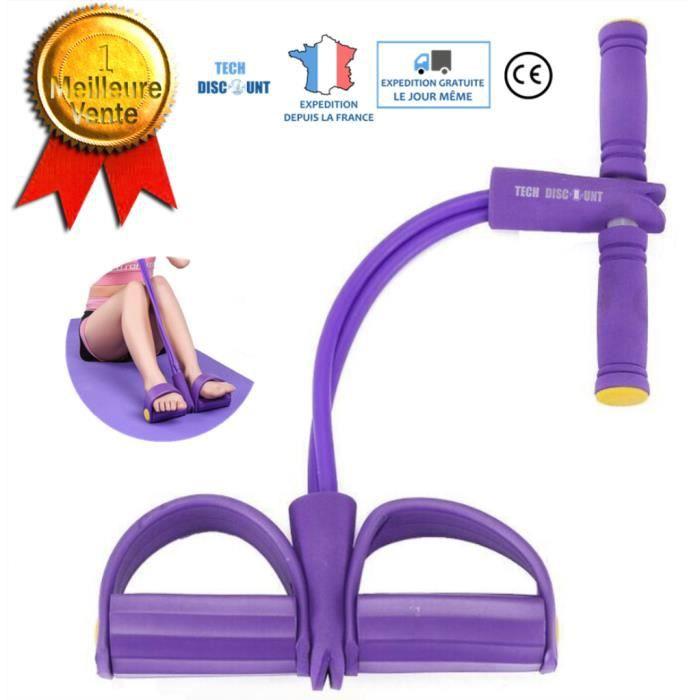 TD® Bande de résistance fitness musculation yoga pour traction élastique sport gymnastique latex mousse ventre multifonction stretch