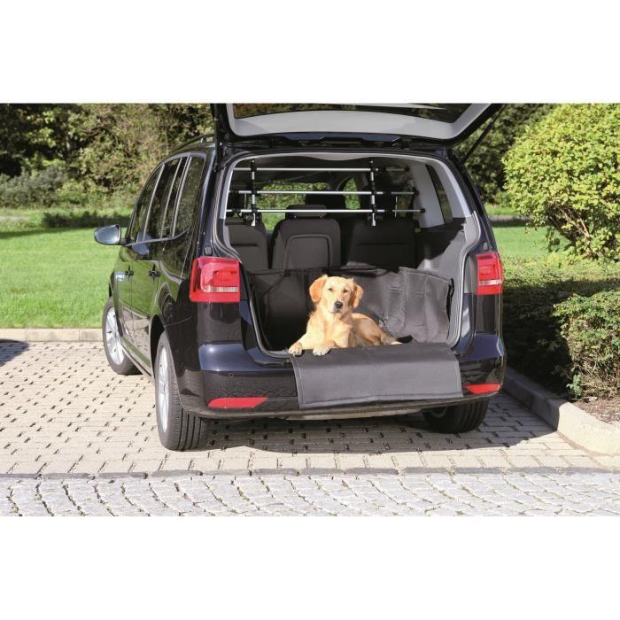 TRIXIE Tapis de coffre auto pour chiens 164 x 125 cm Noir