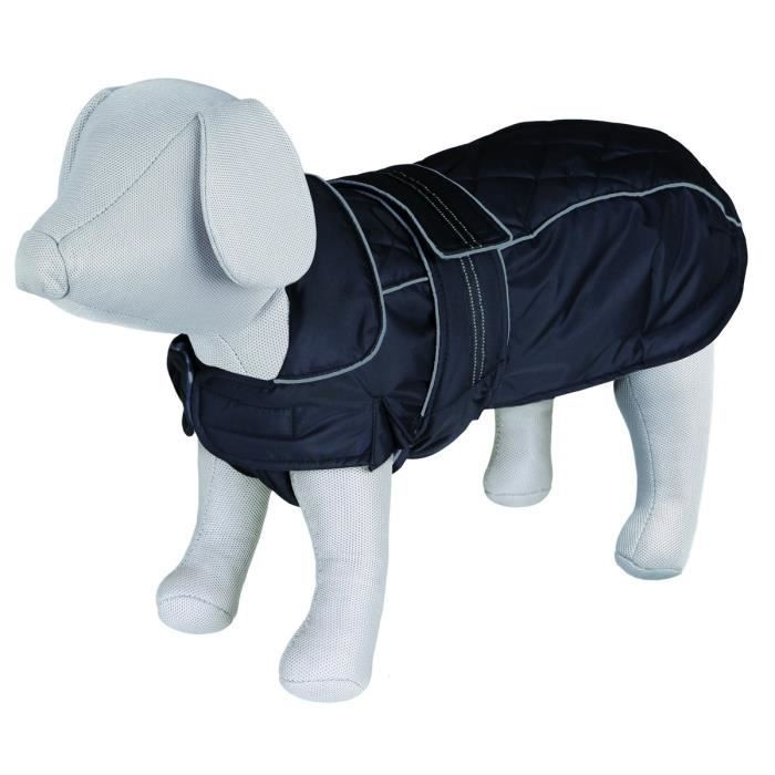 TRIXIE Manteau Rouen S: 38 cm noir pour chien