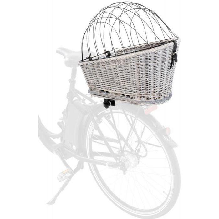 Panier vélo pour porte-bagages. Dimension: 35 x 49 x 55 cm. pour chiens max 8kg.-Trixie 60,000000