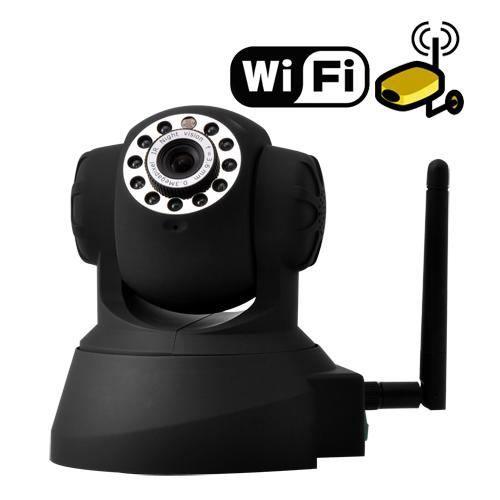 Caméra ip wifi motorisé vision nocturne détecteur