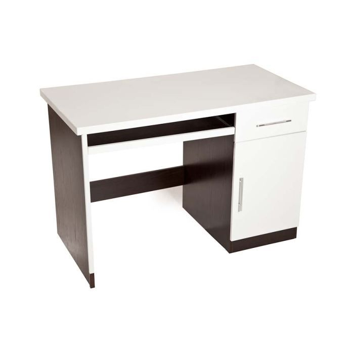 bureau blanc weng achat vente bureau bureau blanc weng cdiscount. Black Bedroom Furniture Sets. Home Design Ideas