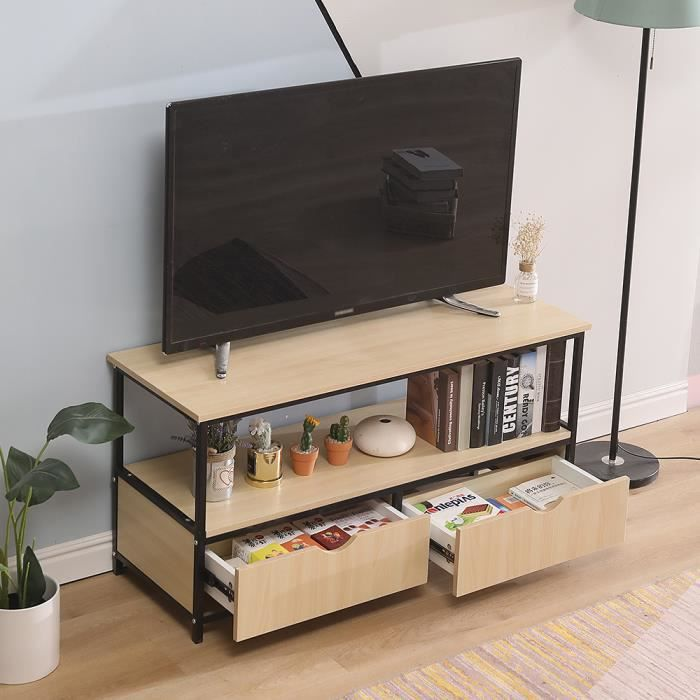 meuble tv table basse design industriel