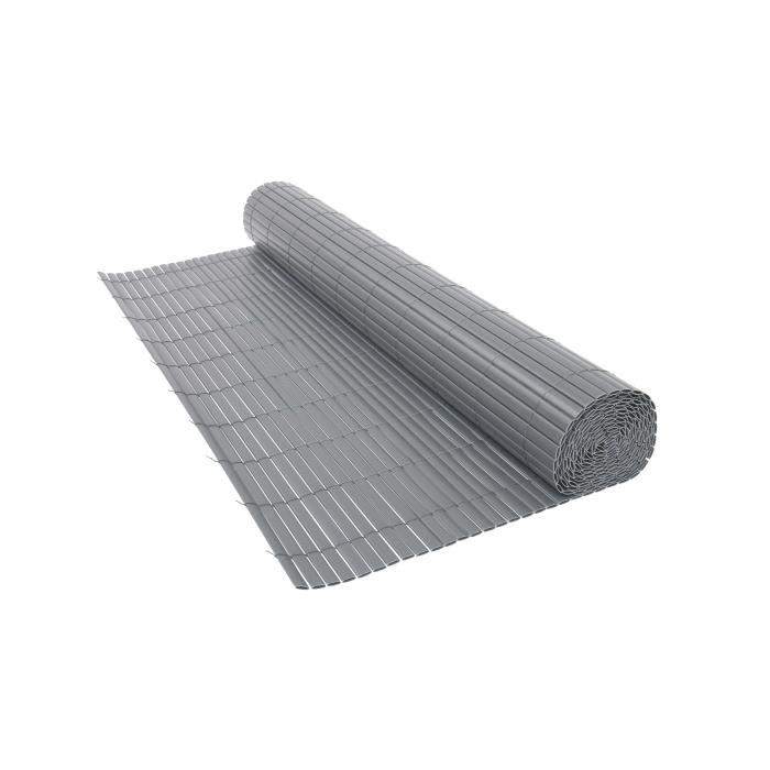 CLÔTURE - GRILLAGE Canisse PVC double, 1600g/m², occultant à 90%, lon